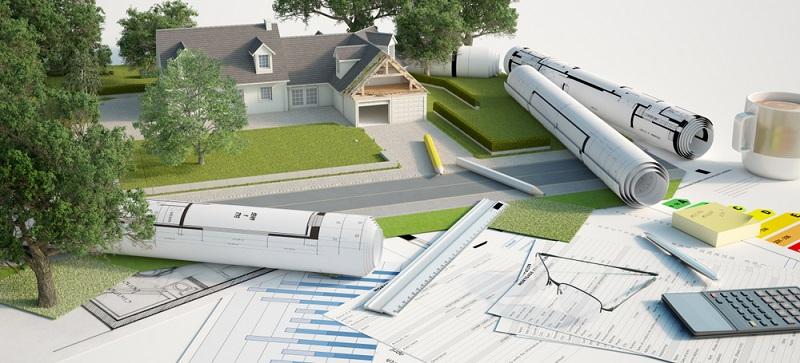Bauherren von Neubauten können passende energetische Einrichtungen von Anfang an planen und die Umsetzung relativ frei gestalten.  ( Foto: Shutterstock- Franck Boston )